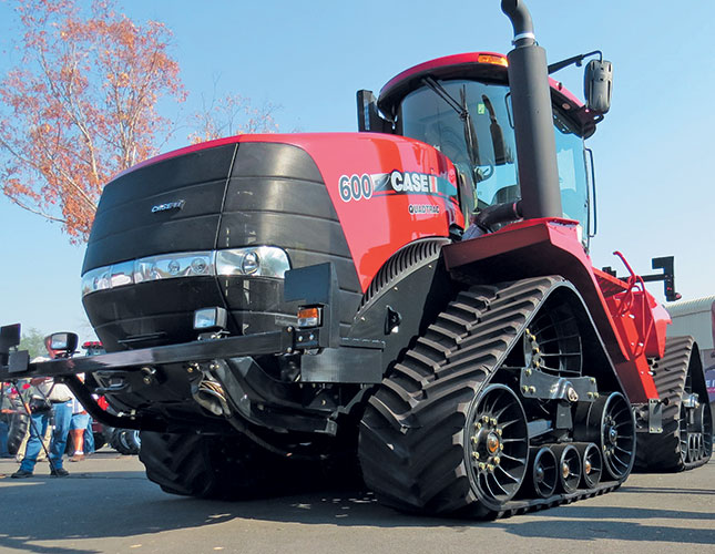 НОВЫЙ Трактор Case IH QUADTRAC 600