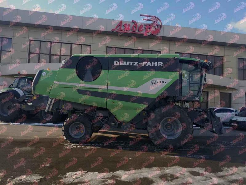 НОВЫЙ КОМБАЙН DEUTZ-FAHR C7206 TS